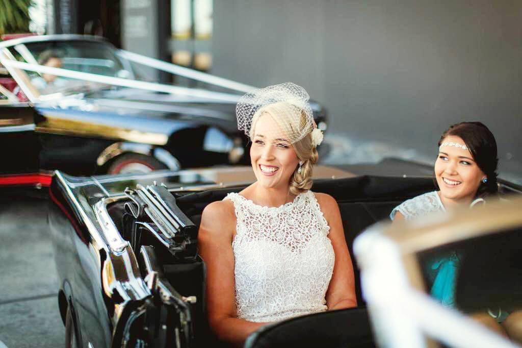 Wedding Cars Melbourne - Mustangs in Black