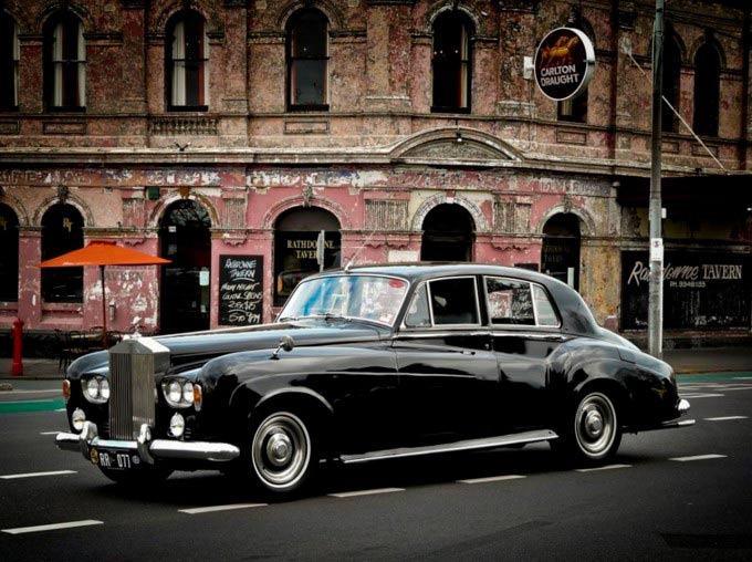 Rolls Royce Wedding Car 2