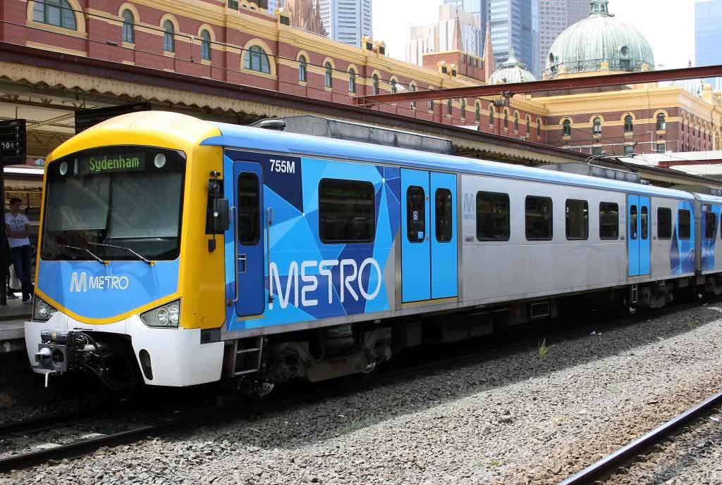 train_in_Metro_Trains_Melbourne_Livery