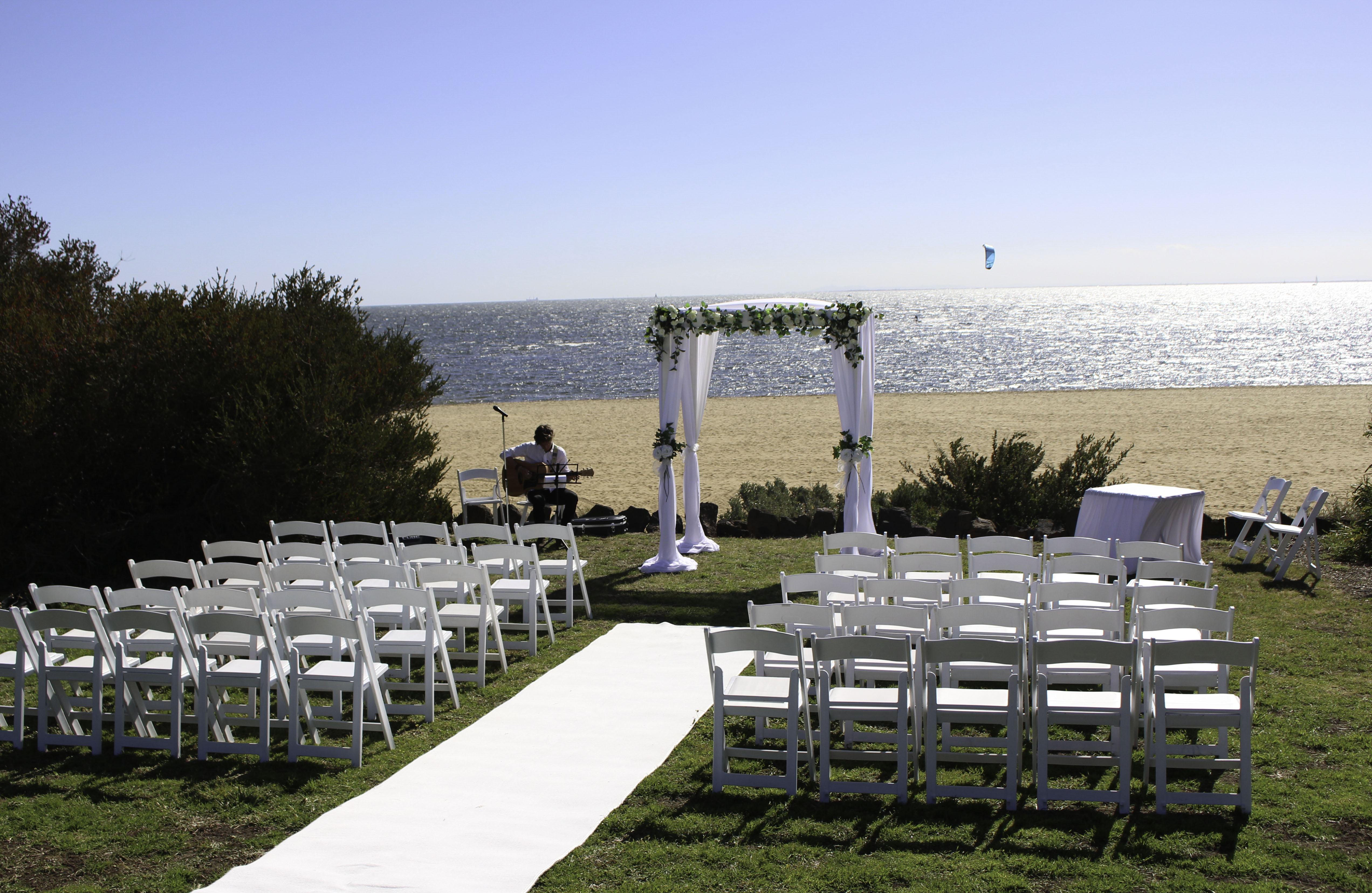 beach ceremony brighton