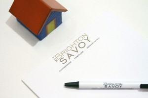 Brighton Savoy branded stationary