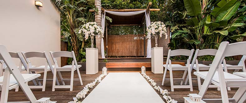 Dedicated Ceremony Spaces